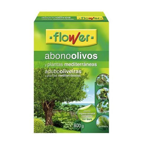 Abono Olivos y Plantas Mediterráneas FLOWER - 800 gr