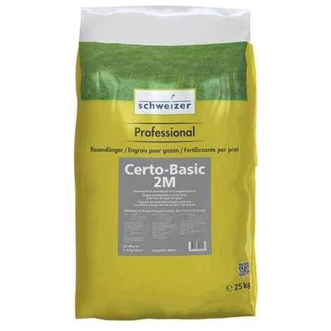 Abono para césped 25kg Certo-Basic 2M (por 4)