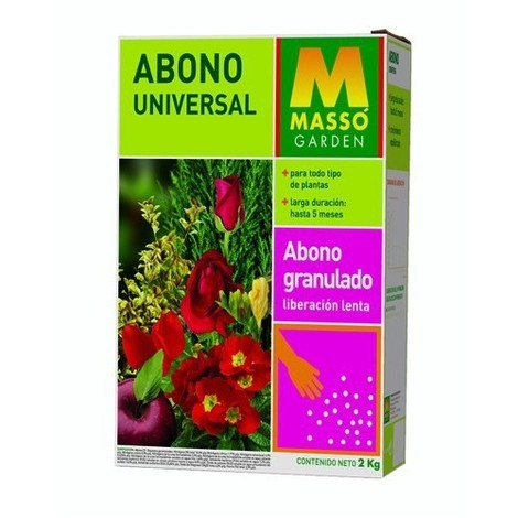 Abono para plantas universal 2 Kg Massó