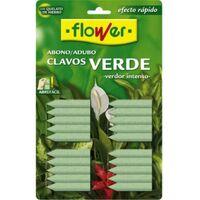 Abono planta verde clavo flower 15501 20 pz