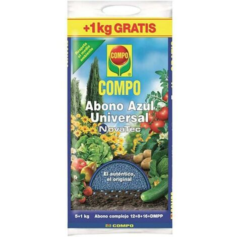 Abono Plantas Solido Universal 5 Kg Compo