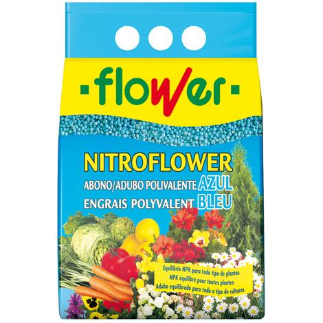 ABONO POLIVALENTE NITROFLOWER FLOWER 2,5 KG