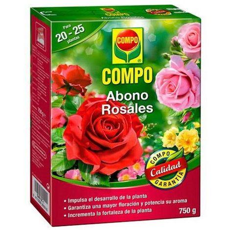 Abono rosales Compo 750 Gr