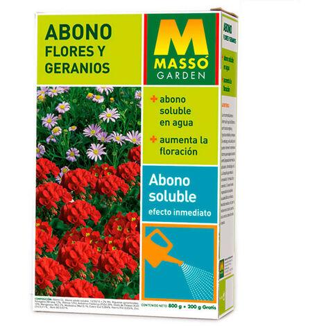 ABONO SOLUBLE FLORES Y GERANIOS 1 KG. MASSO - NEOFERR
