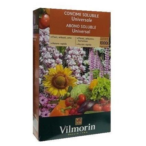 Abono soluble VILMORIN 800g universal para todo tipo de plantas
