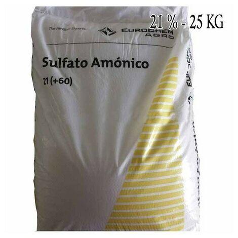 Abono Sustrato amónico Nitrofoska 21%, 25 Kg