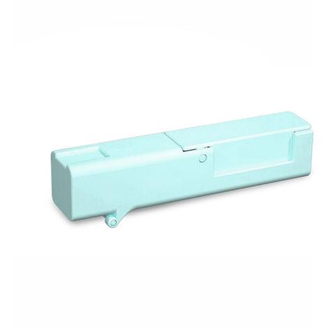 Abra el artefacto de la puerta, presione el elevador, Azul