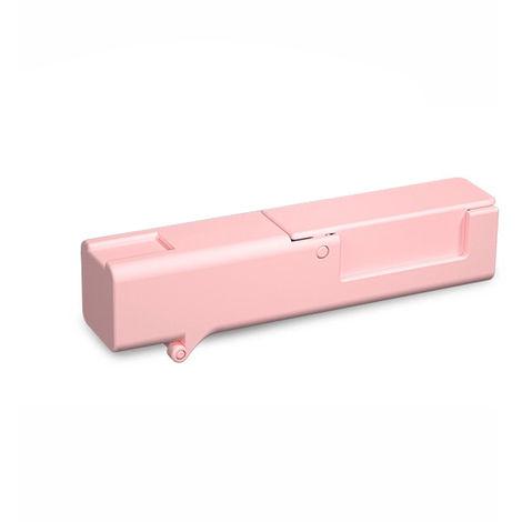 Abra el artefacto de la puerta, presione el elevador, rosa