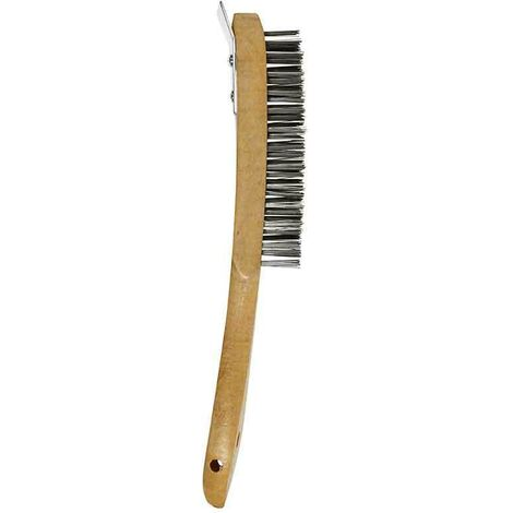 Abracs ABWHBSCR 4 Row Brush with Metal Scraper
