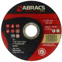 Abracs Proflex Cutting Disc 115mm x 1mm x 22mm (select pk size)