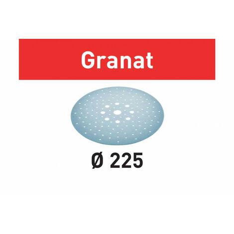 Abrasif STF D225/128 P80 GR/5 Granat | 205665 - Festool