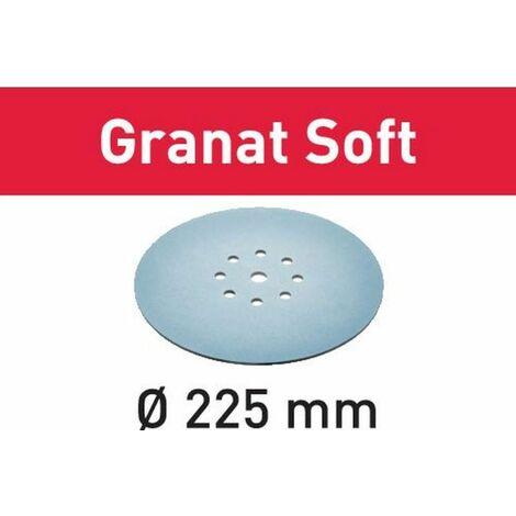 Abrasif STF D225 Granat Soft FESTOOL - grain 100 - 25 pièces - 204222