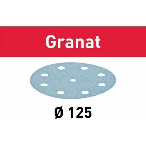 Abrasif STF FESTOOL - D125/90 - grain 100 - 100 pièces - 497168