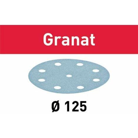 Abrasif STF FESTOOL - D125/90 - grain 120 - 100 pièces - 497169