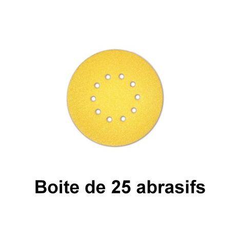 Abrasif Sunflex jaune Ø225
