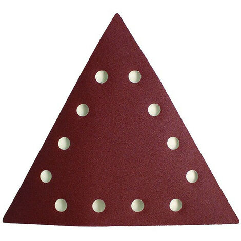 Abrasif triangulaire de ponceuse