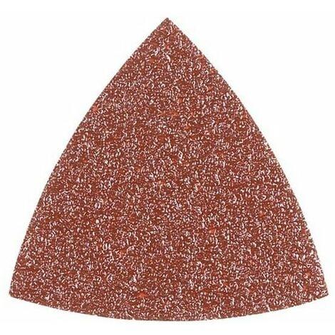 Abrasifs 82x82 60g par 5 pour Outil multifonction Ryobi, Ponceuse A.e.g, Outil multifonction A.e.g