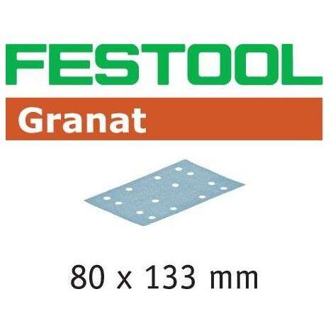 Abrasifs FESTOOL STF 80x133 P120 GR - Boite de 10 - 497129