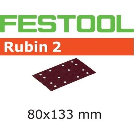 Abrasifs FESTOOL STF 80X133 P120 RU2 - Boite de 10 - 499058