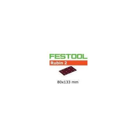 Abrasifs FESTOOL STF 80X133 P180 RU2 - Boite de 10 - 499060
