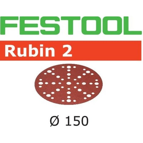 Abrasifs FESTOOL STF D150/48 P150 RU2 - Boite de 10 - 575183