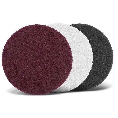 Abrasifs non tissés MENZER, polaire de fibre, Ø 125 mm