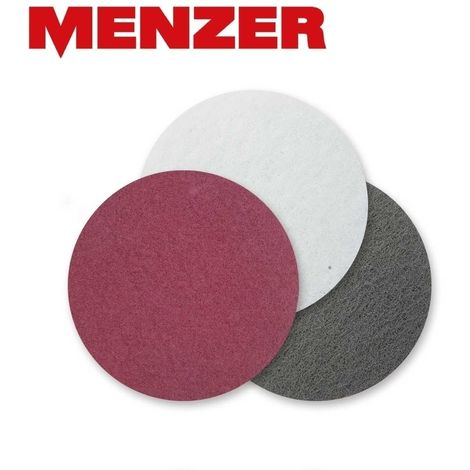 Abrasifs non tissés MENZER, polaire de fibre, Ø 225 mm
