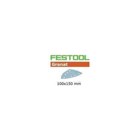 Abrasifs STF DELTA/7 P120 GR/100 - Festool