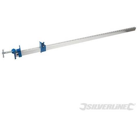 Abrazadera con carril de aluminio 1.200 mm - NEOFERR