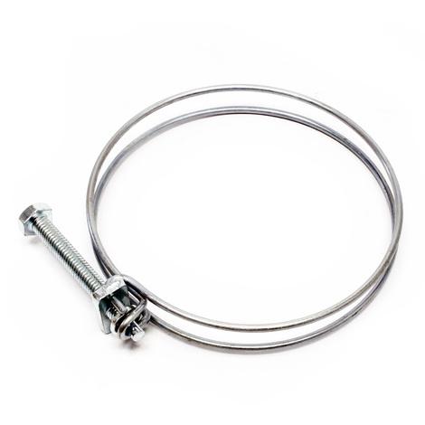 Abrazadera de alambre manguera espiral W1 75-80 mm 2,2 mm M6x70