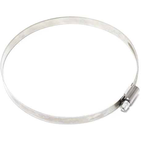 Abrazadera de manguera con roscal helicoidal W2 acero inoxidable Ancho 12mm Rango de sujeción 160-180mm