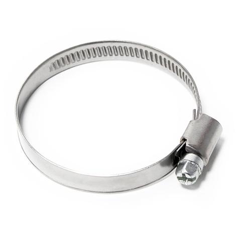 Abrazadera de manguera con roscal helicoidal W2 acero inoxidable Ancho 9mm Rango de sujeción 32-50mm