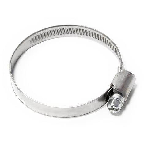 Abrazadera de manguera con roscal helicoidal W2 acero inoxidable Ancho 9mm Rango de sujeción 35-50mm
