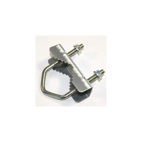 Abrazadera pequeña m8 60x100 soporte antenta