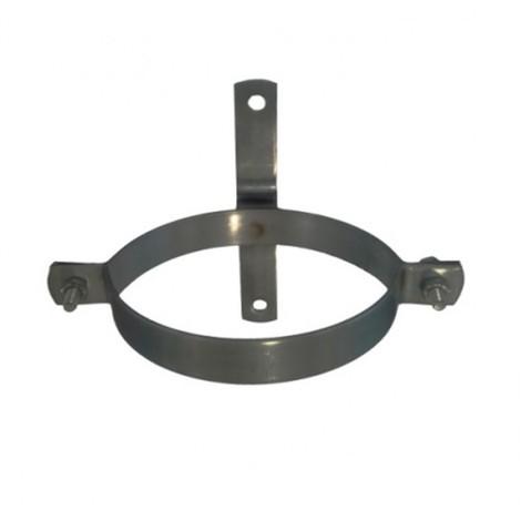 Abrazadera tubo estufa atorn. 100 mm h. gr theca