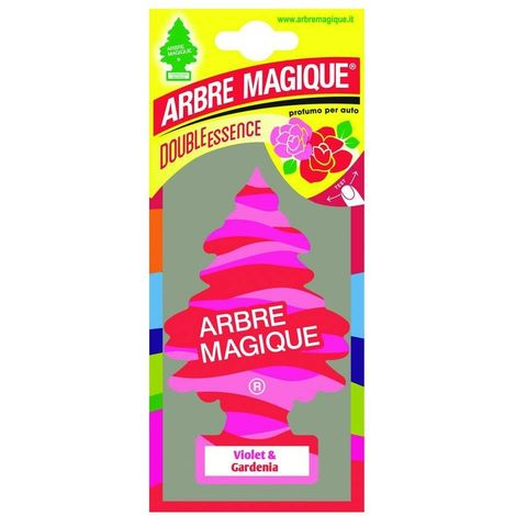 ABREMAGIQUE 1710548 DÉSODORISANT ARBRE MAGIQUE VOILET & GARDENIA PINK, SET DE 24 102310