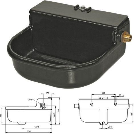 Abreuvoir automatique pour chien en fonte à niveau constant - 3 litres Désignation : Abreuvoir MORIN 220195