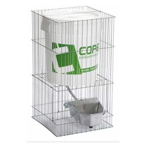 Abreuvoir plastique avec réservoir taille L