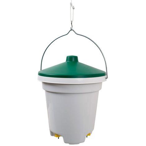 Abreuvoir seau 12 litres avec pipettes