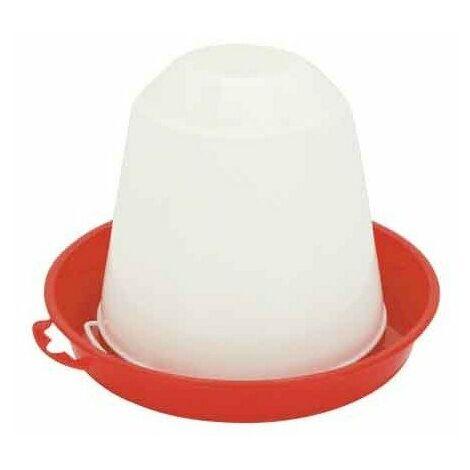 Abreuvoir syphoide poussins/volailles PVC 10 litres en alimentation automatique