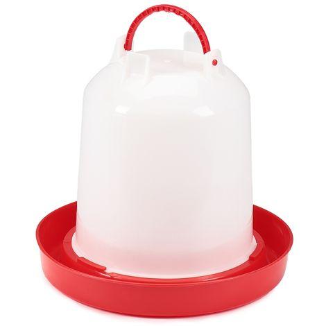 abreuvoirs pour animaux de 6 litres Abreuvoirs à poulets en plastique