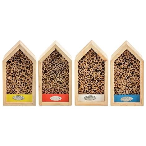 Abri abeilles coloré