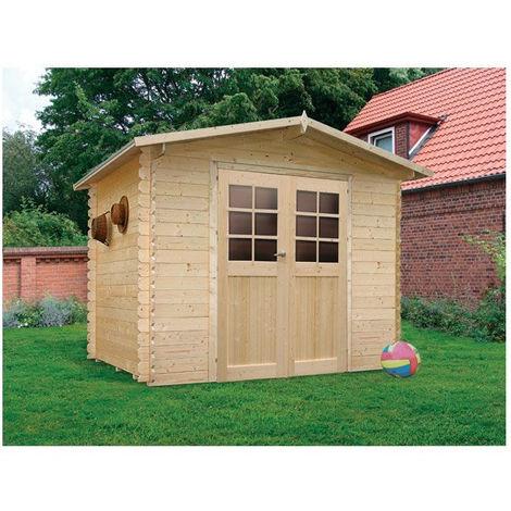 Abri de jardin Amberg - Option: Sans plancher