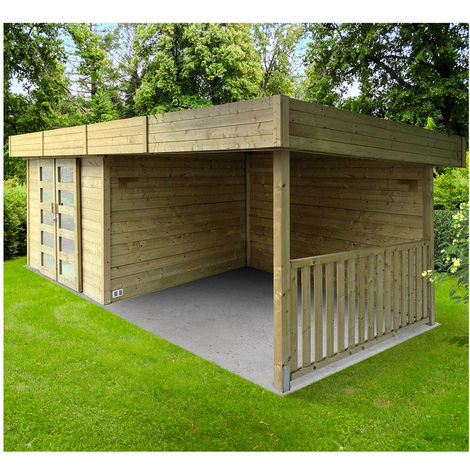 Abri de jardin Arhus - Option: Avec plancher