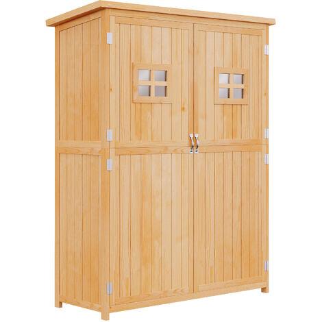 abri de jardin armoire de jardin remise pour outils sur. Black Bedroom Furniture Sets. Home Design Ideas