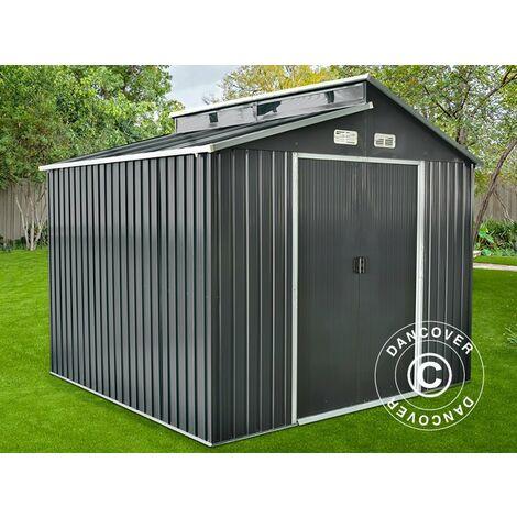 Abri de jardin avec lucarne 2,78x2,6x2,34m ProShed®, Anthracite