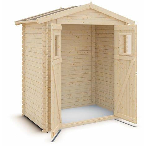 Abri de jardin bois 2,3 m2