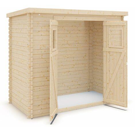 Abri de jardin bois 3 m2