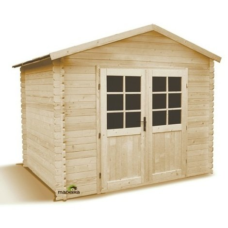 Abri de jardin bois 4,7 m2 - 28 mm - ZOUG