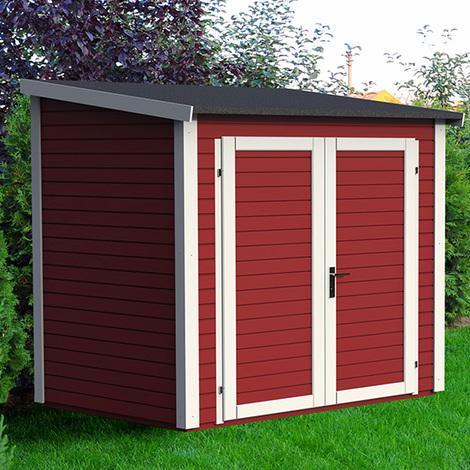Abri de jardin bois adossable, 3 m2